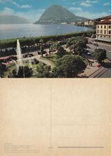 Lugano Post-War (1945-Present) Collectable Swiss Postcards