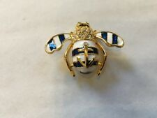 Joan Rivers Anchor Bee Pin