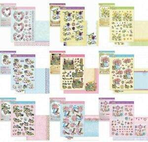 New Hunkydory Springtime Wishes Designer Deco Large Decoupage Toppers Card Kit