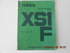 yamaha . xs1f . xs 650 . service manual . 650xs . xs650
