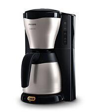 Philips Gaia Filter-Kaffeemaschine mit Thermo-Kanne schwarz/etall Original NEU