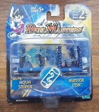 DUELMASTERS  AQUA SNIPER & HUNTER FISH series 2 , 2004 MIP