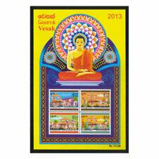 VESAK - 2013 Stamp Souvenir sheet - Sri Lanka, Ceylon
