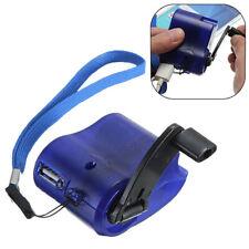 Eg _ Ft- Fp- USB Hand Dynamo Ladekabel mit Licht Ökologisches Kurbel Ladegerät