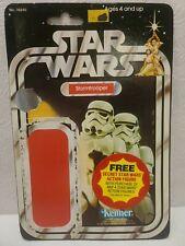 Vintage Original Kenner Star Wars STORMTROOPER Card Back 20 Back 1977