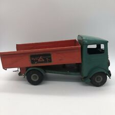 Lines Bro's LTD Vintage metal toy Dump truck - Tri-Ang Transport Made In England