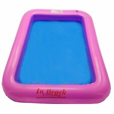 Child Inflatable Sand Tray Indoor Castle Play Sandbox Beach Pit Water Table Toy