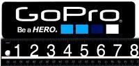 GOPRO STICKER GoPro 8 in x 2.25 in Black/White Skate Snowboard Ski Surf Decal