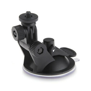 "Suction Cup Tripod 1/4"" Sports Camera GPS Monitor Holder for Car Glass Window"