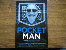 Pocket Man by Scott Jordan CEO And Founder of SCOTTeVEST Signed by Author