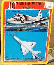1976 Imperial Toys Douglas USN A-4 Skyhawk diecast 3 x 1.75 inch Singapore Boys