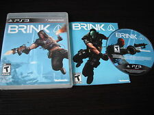 Playstation PS 3 PS3 complete in case Brink tested