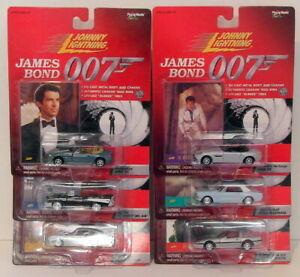 Johnny Lightning 1/64 Scale 261-02 - James Bond 007 Set Of 6 Models