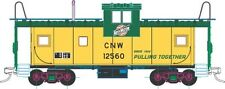 CHICAGO & NORTH WESTERN EV Caboose (#12560), Atlas Trainman #0752-1, 2-Rail NEW!