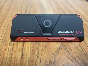 AVerMedia Live Gamer Portable 2 Plus READ!!!