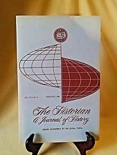 PHI ALPHA THETA THE HISTORIAN A JOURNAL OF HISTORY FEB 1983 VOL XLV NO 2 PB.