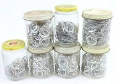 New listing Huge Lot of Vintage Aluminum Rings Switch Mounting Potentiometer Washer 30mm
