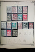 Belgium Mostly Mint Semis and Air Mail Stamp Collection