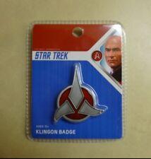 Star Trek Klingon Emblem Badge Replica (Zinc Alloy) Quantum Mechanix (QMX)