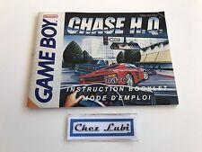 Notice - Chase HQ - Nintendo Game Boy - PAL FAH