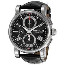 Analoge Erwachsene Montblanc Armbanduhren mit Datumsanzeige