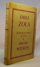 Angus Wilson EMILE ZOLA Introductory Study First Edition 1952 Inscribed/SIGNED!