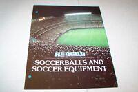 Vintage Catalog #372 - 1978 REGENT SOCCER BALLS AND EQUIPMENT