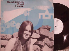 HENDRICKSON ROAD HOUSE s/t 1970 TENTH PLANET re  FOLK PSYCH LP