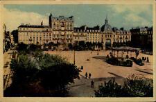 Brest France carte postale 1941 place du president wilson pavillon personnes