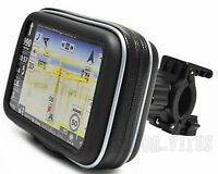 "Water-resistant Motorcycle/Bike Handlebar Mount & GPS case for 4.3"" Garmin Nuvi"