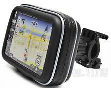 "Water-resistant Motorcycle/Bike Handlebar Mount & GPS case for 4.3"" Garmin Nuvi"