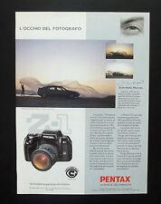 F152 - Advertising Pubblicità - 1992 - PENTAX Z 1 , LA PAROLA DELL'IMMAGINE