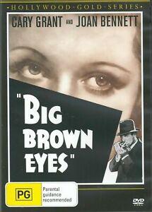 BIG BROWN EYES DVD 1936 NEW Region 4 Cary Grant Joan Bennett Walter Pidgeon RARE