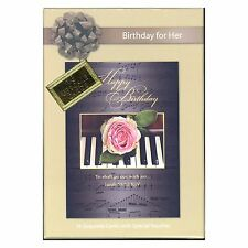 12 BIRTHDAY FOR HER Scripture Gold-Foiled Greeting Card