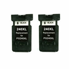 Reman ink Cartridge for Canon PG-240XL(2 Black)use in Canon Pixma MG2120 Printer