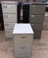 Various Brand Name Metal Filing Cabinets 2 / 3 / 4 Drawer - Prices Vary