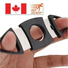 Cigar Cutter 2 Blades Stainless Steel Cigar Scissor Cutter 🇨🇦 Seller!