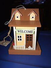 Radiant Treasure Handmade Welcome Bird Feeder New In Box Made Of Real Wood Non T