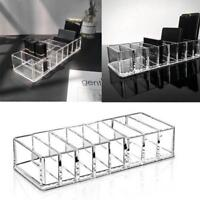 Clear Acrylic Cosmetic Organizer Case Make Up Drawers Holder Jewelry Storage Box
