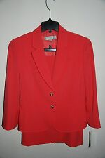 WOMENS SIZE 14W TAHARI ASL 2 PIECE SKIRT SUIT BLAZER AND SKIRT NWT! $320