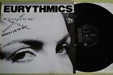 "Eurythmics-Would I Lie To You?, vinile, 12"" MAXI, d'85, è VG + +"