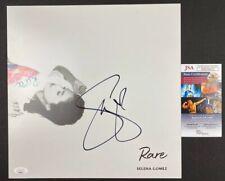 SELENA GOMEZ signed 12x12 Poster Lithograph RARE Album JSA Authentication