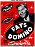 Fats Domino - Imperial Records - 1950's - Concert Poster