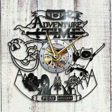 Adventure Time Vinyl Clock