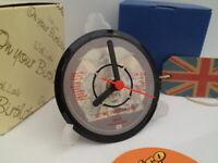 *new* QUEEN (FREDDIE MERCURY) VINYL RECORD CLOCK Desk / Table + Display Stand