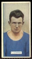 Tobacco Card, Carreras, FAMOUS FOOTBALLERS, 1935, S Cowan, Manchester City, #45