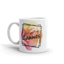 Greetings From Cannes High Quality 10oz Coffee Tea Mug #7664