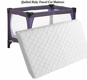 Extra Thick Travel Cot Mattress for Joie kubbie 90cm x 50cm x 7cm Breathable