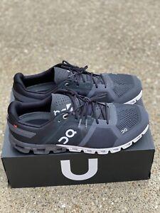 On Cloudflow Black/asphalt Men's Size 10 Running Shoe