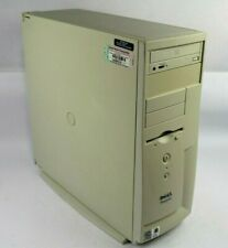 Vintage Dell Dimension 4100 Tower PC Pentium III 1GHz 128MB RAM 40GB HDD WinXP
